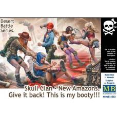 Master Box 1/35 Кланы Черепа - Новые Амазонки. Отдай! Это мой лут!!! № 35202