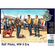 Master Box 1/32 Пилоты RAF, Второй Мировой войны. № 3206