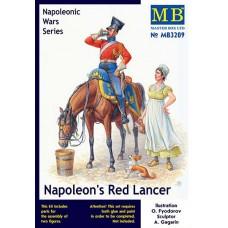 Master Box 1/32 Красный Улан периода Наполеоновских войн. № 3209