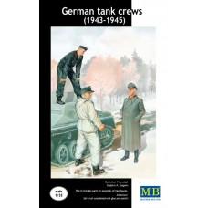 Master Box 1/35 Немецкий танковый экипаж набор №2 (1943-1945). № 3508