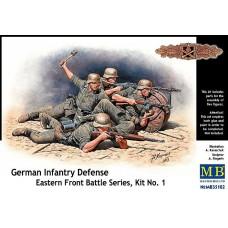 Master Box 1/35 Немецкая пехота в обороне, Восточный Фронт. № MRB_35102