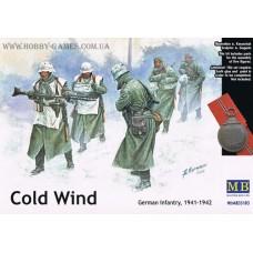 """Master Box 1/35 Немецкая пехота, зима 1941- 1942 гг. """"Холодный Ветер"""". № 35103"""
