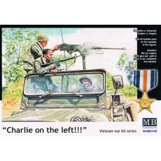 """Master Box 1/35 Набор на Вьетнамскую войну (""""Чарли слева!""""). № MRB_35105"""