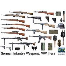 Master Box 1/35 Набор немецкого оружия, Второй Мировой войны. № 35115