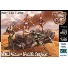 Master Box 1/35 Дизельпанк. Серия Пустынные Битвы. Клан Черепа - Ангелы Смерти. № 35122