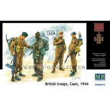 Master Box 1/35 Британские войска, Битва за Кан 1944 (Cane). № 3512