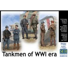 Master Box 1/35 Танкисты Первой Мировой Войны. № 35134