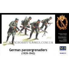 Master Box 1/35 Немецкие панцергренадеры, 1939-42. № 3513