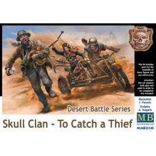 Master Box 1/35 Дизельпанк. Серия Пустынные Битвы. Клан Черепа - Поймать Вора. № 35140