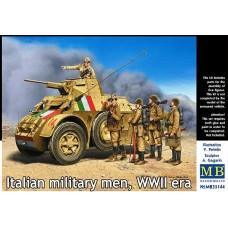 Master Box 1/35 Итальянские солдаты Второй Мировой войны. № 35144