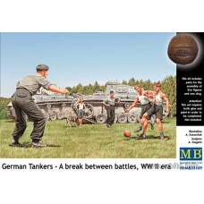 Master Box 1/35 Немецкие танкисты, матч на отдыхе, Вторая Мировая война. № 35149