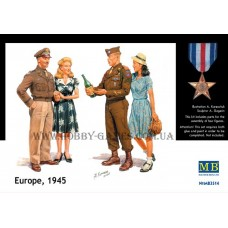 Master Box 1/35 Европа, 1945 г. № 3514