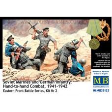 Master Box 1/35 Советские моряки против немецкой пехоты. Рукопашный бой 1941-1942. № 35152