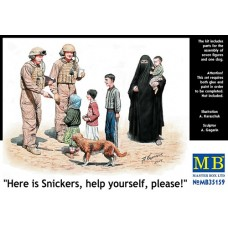 """Master Box 1/35 """"Here is Snickers, help yourself, please!"""". № 35159"""