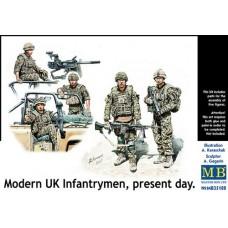 Master Box 1/35 Современные Британские солдаты. № 35180