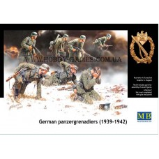 Master Box 1/35 Немецкие панцергренадеры (1939-42). № 3518