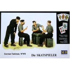Master Box 1/35 Немецкие танкисты на отдыхе. № MRB_3525
