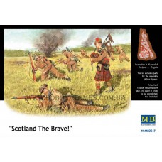 """Master Box 1/35 Шотландская пехота """"Храбрость Шотландии"""" 1944-1945 гг. № 3547"""