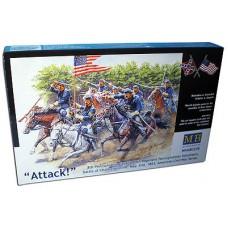 Master Box 1/35 Серия Гражданская война в США: 8й Пенсильванский кавалерийский полк. № 3550