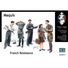 Master Box 1/35 Maquis - бойцы французского сопротивления. № 3551
