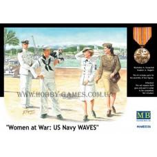 "Master Box 1/35 Военнослужащие ВМС США. Серия ""Woman at war"". № MRB_3556"