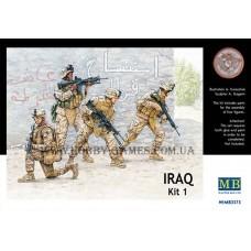 Master Box 1/35 Современная американская морская пехота в Ираке (US Marine Corps in Iraq). № 3575