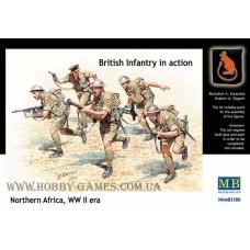 Master Box 1/35 Британская пехота в атаке (Северная Африка). № 3580