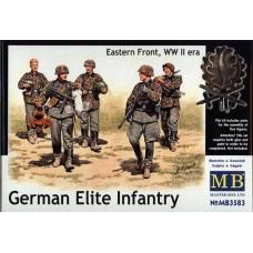 Master Box 1/35 Немецкие элитные войска, Восточный Фронт. № 3583