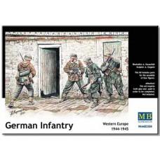 Master Box 1/35 Немецкая пехота, западная Европа 1944-1945. № MRB_3584