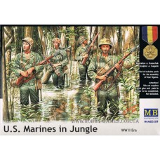 Master Box 1/35 Американская морская пехота в джунглях (WW II era). № 3589