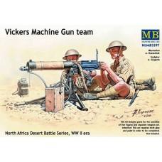 "Master Box 1/35 Британский пулемёт ""Виккерс"" с расчетом (Северная Африка). № MRB_3597"