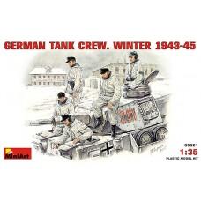 MiniArt 1/35 Немецкий танковый экипаж (Зимняя форма 1943-1945 гг.). № 35021