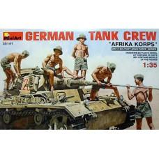 MiniArt 1/35 Немецкий танковый экипаж, Африканский Корпус. № 35141