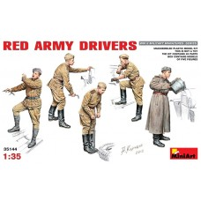 MiniArt 1/35 Советские водители Красной Армии Второй Мировой войны. № 35144