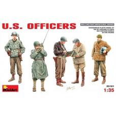 MiniArt 1/35 Американские офицеры Второй Мировой войны. № 35161