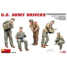 MiniArt 1/35 Водители армии США, Второй Мировой войны. № 35180