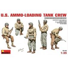 MiniArt 1/35 Американские танкисты, загружающие боеприпасы. № 35190