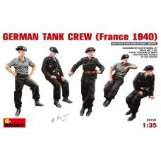 MiniArt 1/35 Немецкий экипаж бронетехники, Франция, 1940. № 35191