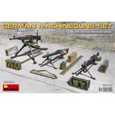MiniArt 1/35 Немецкие пулеметы и экипировка. № 35250