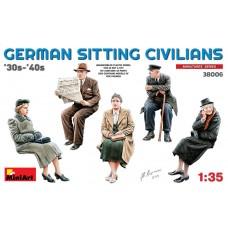 MiniArt 1/35 Немецкие гражданские 30-х 40-х годов XX века. № 38006