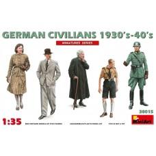 MiniArt 1/35 Немецкие городские гражданские жители. № 38015