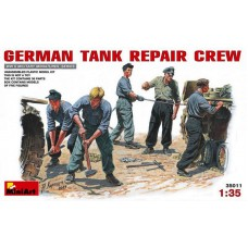 MiniArt 1:35 Немецкая бригада ремонтников за работой. № 35011