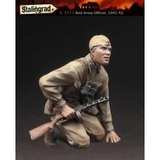 "Stalingrad Miniatures 1/35 Командир РККА (1941-42) Серия ""Под огнем"". № STA_S-3511"