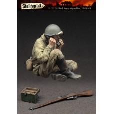 "Stalingrad Miniatures 1/35 Связист РККА (1941-42) Серия ""Под огнем"". № STA_S-3516"