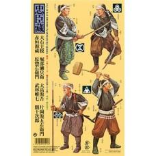 Tamiya 1/35 Японские воины-самураи (8 фигурок). № 25411