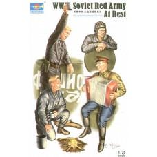 Trumpeter 1/35 Советские солдаты ВОВ на отдыхе. № TRU_00413