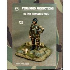 Verlinden Productions 1/35 Американский командир танка (1980-1990). № 5401