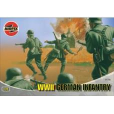 Airfix 1/72 Набор немецкой пехоты Второй Мировой войны. № 01705