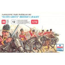 "Esci 1/72 Набор солдат: Британская кавалерия ""Scots Greys"", Napoleonic Wars. № 217"