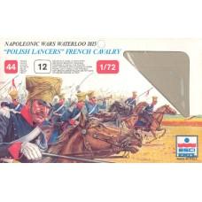 "Esci 1/72 Набор солдат: Французская кавалерия ""Polish Lancers"", Napoleonic Wars. № 218"